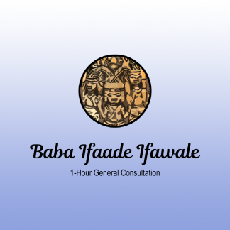 Baba Ifaade - 1hr Consultation